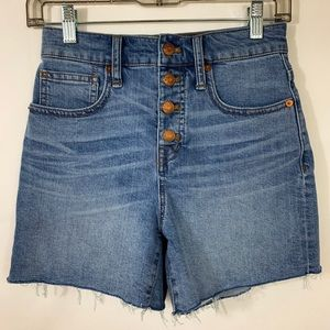 Madewell High Rise Women's Shorts Size 24